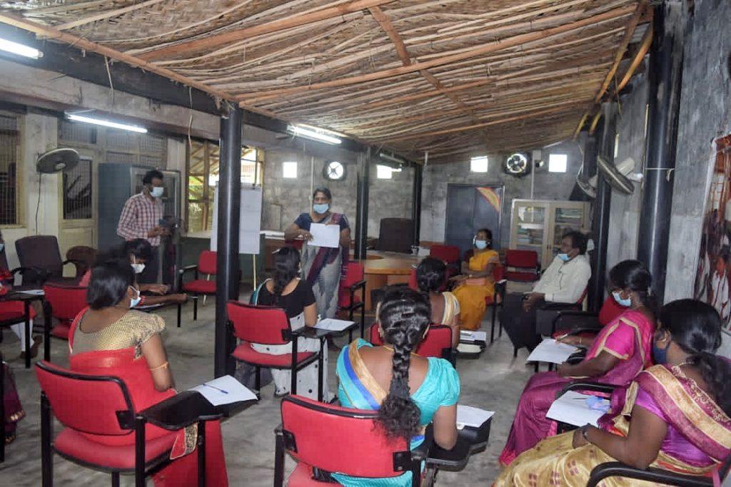நட்புதவியாளர் பயிற்சி மீளாய்வு- யாழ்ப்பாண வலயம்