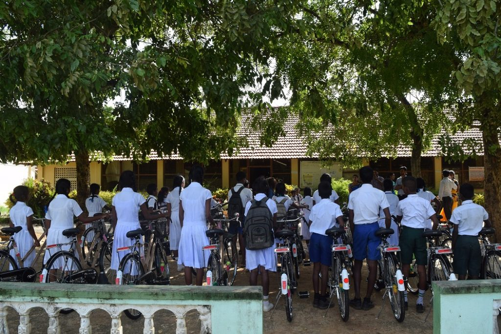 Donation of Bicycles